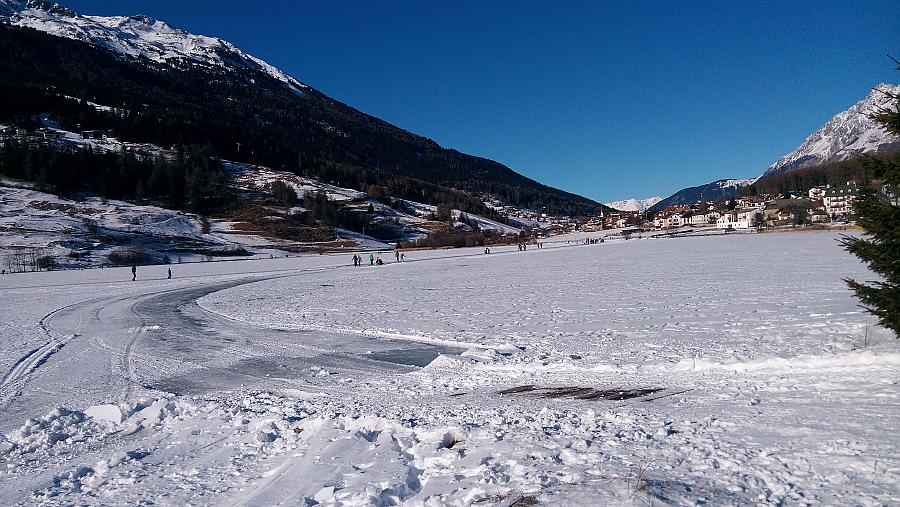 Haidersee im Winter